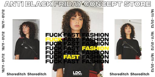 ANTI 'BLACK FRIDAY': Lone Design Club's Sustainable Concept Store + Events