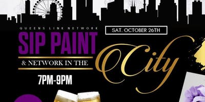 Sip,Paint, and network in the city