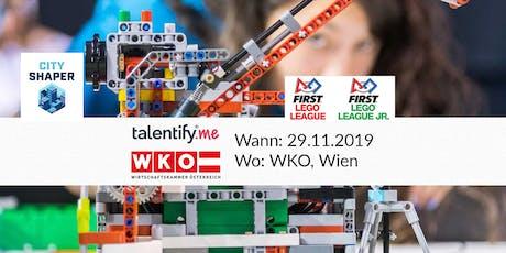 FIRST LEGO League Roboterwettbewerb Besucherticket billets