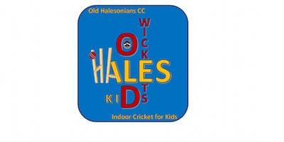 Old Halesonians Junior Indoor Cricket Training