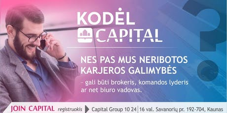 Join Capital Group tickets