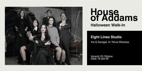 House of Addams | Halloween Walk-In biglietti