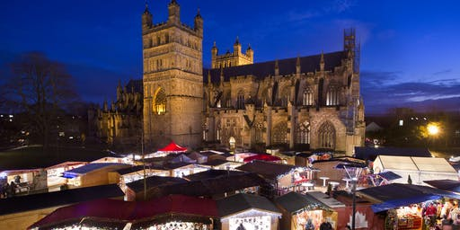 Pi Singles Christmas Red Coat Legendary Guide of Exeter and Christmas Market