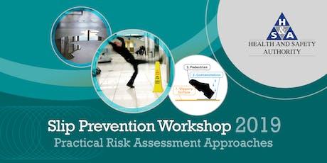 Slip Prevention Workshop 2019 tickets