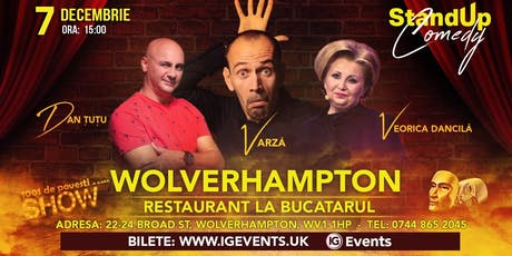 Wolverhampton Stand Up Comedy - Dan Tutu, Varza si Veorica Dancila tickets
