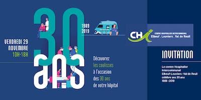 30 ans du CHIELVR : découvrez les coulisses de votre hôpital !
