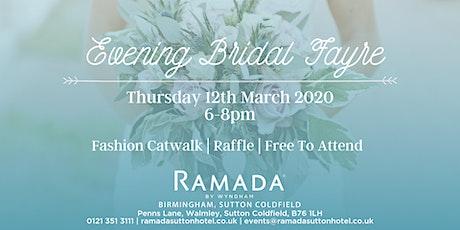 Evening Bridal Fayre tickets