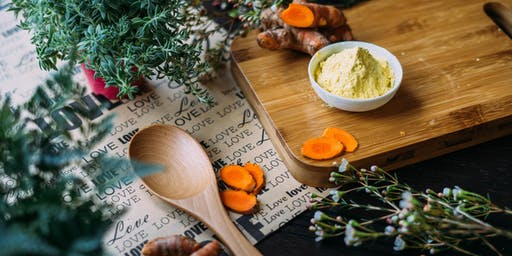 Cooking with Herbs Class: Skin health