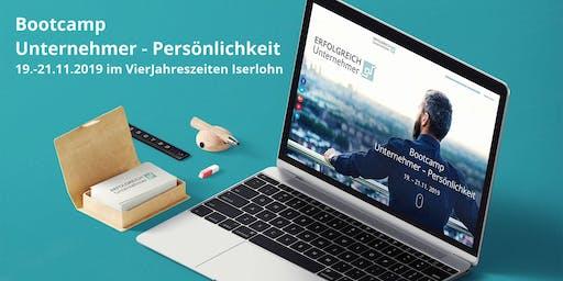 Bootcamp Unternehmer-Persönlichkeit