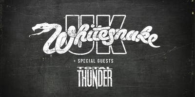 Whitesnake UK & Total Thunder