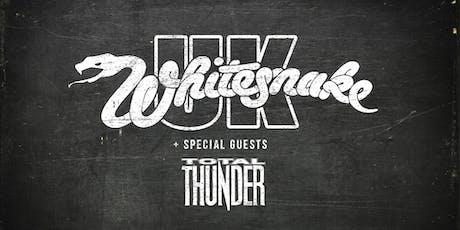 Whitesnake UK & Total Thunder tickets