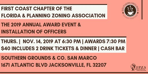 First Coast Chapter FPZA 2019 Annual Award Event