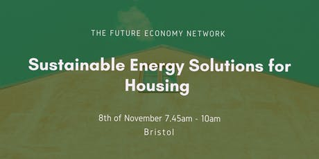 Sustainable Energy Solutions for Housing tickets