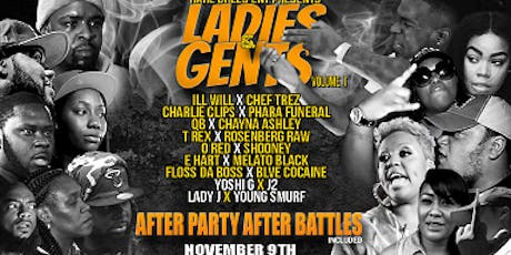 LADIES & GENTS vol 1 tickets
