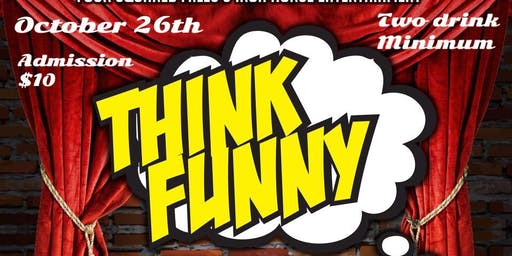 Think Funny Halloween Comedy Show