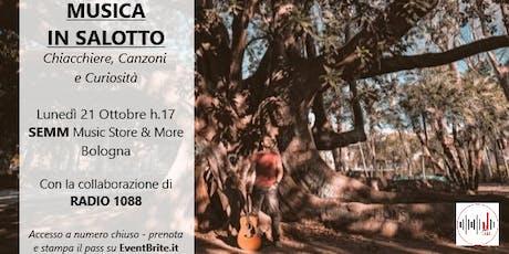 """""""LIBERO a Bologna - Musica in salotto"""" biglietti"""