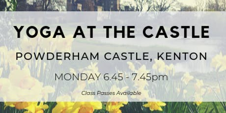 Yoga at the Castle tickets