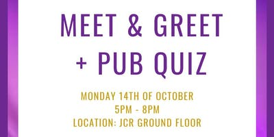 Meet & Greet + Pub Quiz
