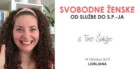 Svobodne Ženske: Kako it od Službe do s.p.-ja? tickets