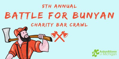 5th annual Battle for Bunyan Bar Crawl Hosted by YPB