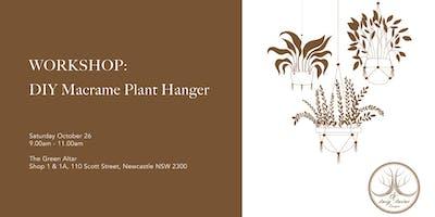DIY Macrame Plant Hanger with Twig & Twine Designs
