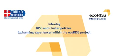 RIS3 and Cluster policies Exchanging experiences within the ecoRIS3 project biglietti