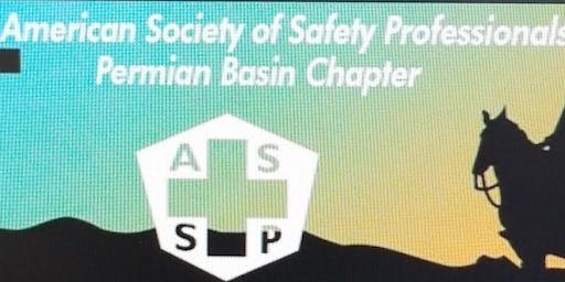 October Permian Basin ASSP Chapter meeting