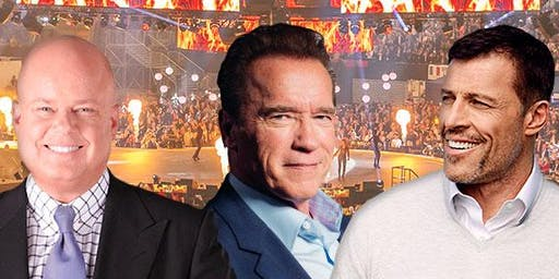 Elite Seminar 2020 Germany with Tony Robbins, Eric Worre and Arnold Schwarz