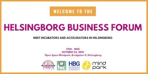 Helsingborg Business Forum #2 - Meet incubators and accelerators in HBG