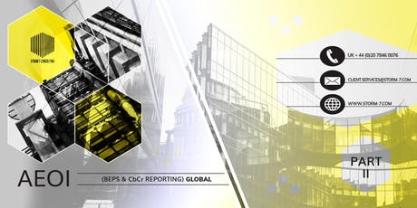 AEOI SERIES - PART II: AEOI (BEPS & CbCr) REPORTING, Miami, January 2020 tickets