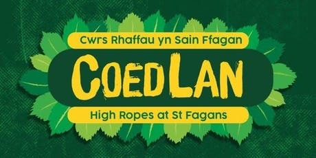 COEDLAN: Cwrs Rhaffau Sain Ffagan | High Ropes at St Fagans tickets