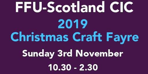 FFU-Scotland CIC, Christmas Craft Fayre 2019