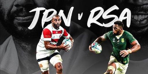 RWC QF4: Japan v South Africa