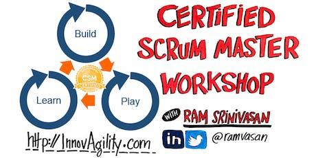 Toronto Nov Weekend Certified Scrum Master (CSM) - Build-Play-Learn Scrum tickets