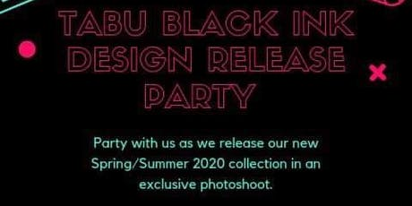 Tabu Black Ink Design Release Party tickets