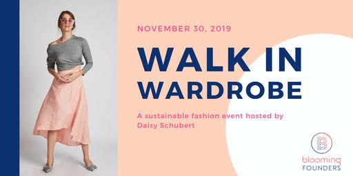 WALK IN WARDROBE - Sustainable Fashion Event