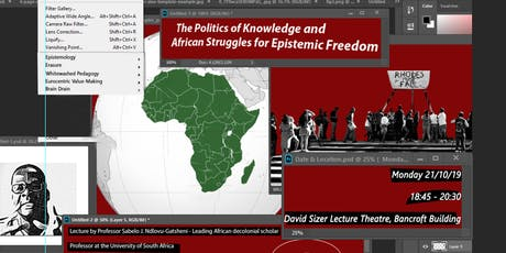 The Politics of Knowledge and African Struggles for Epistemic Freedom tickets