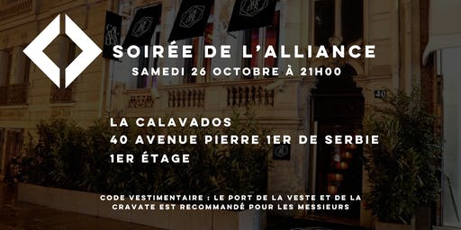 Soirée de l'Alliance - Édition octobre 2019
