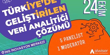 Türkiye'de Geliştirilen Veri Analitiği Çözümü - Panel tickets