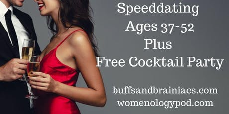 Speed Dating Party Ages 37-52- NYC Singles tickets