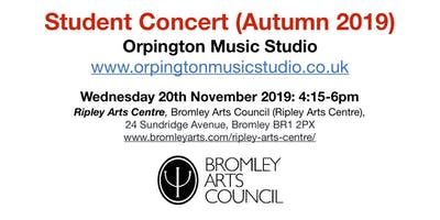 Student Concert (Autumn 2019) - Orpington Music Studio