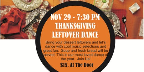 Thanksgiving Leftovers Dance tickets