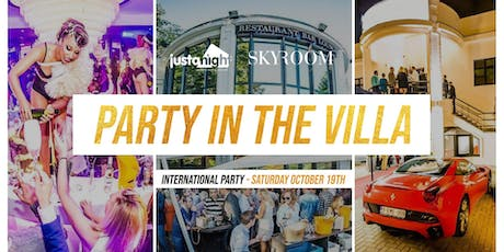 Party in a Villa - International Party in a great exclusive Bxl location!  billets