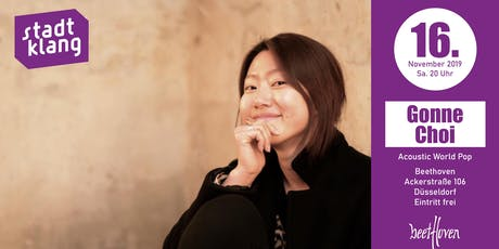«stadtklang» with Gonne Choi // at Café Beethoven Tickets