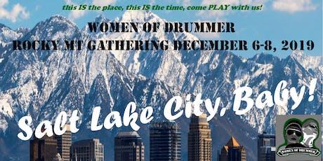 Women of Drummer Rocky Mountain Regional Gathering tickets