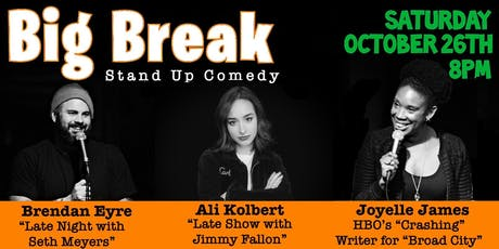 Big Break Stand-Up Comedy tickets