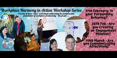 Workplace Harmony in Action - A Series Of 3 Workshops