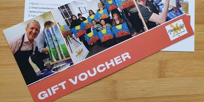 Twisted Art Gift Vouchers -  Includes postage