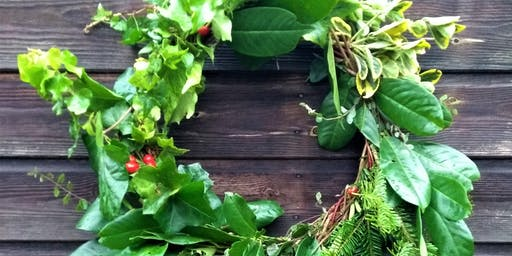 Foraged Christmas Wreath Workshop