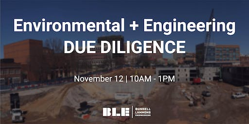 Environmental and Engineering Due Diligence Course